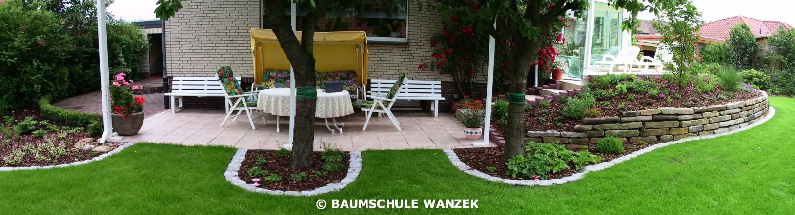 Baumschule Wanzek Gartengestaltung